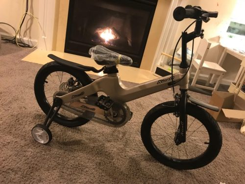 Nice C BMX Kids Bike with Dual Disc Brake, Training Wheel, Best Gift for 2-10 years Girl and Boy photo review